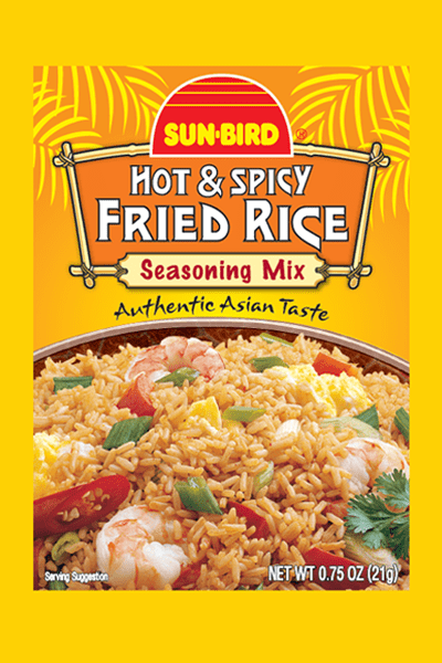 HOT & SPICY FRIED RICE SEASONING MIX