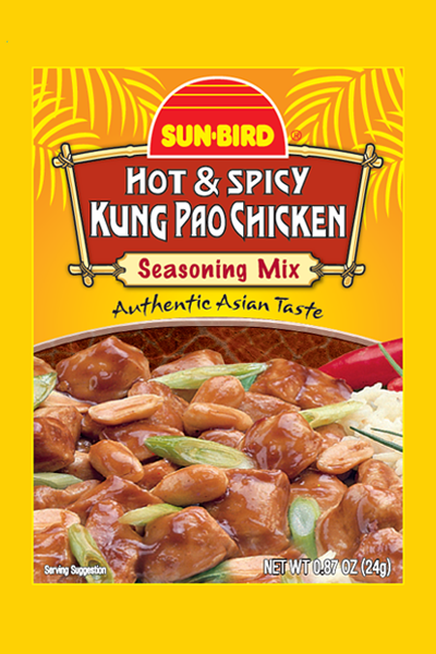HOT & SPICY KUNG PAO CHICKEN