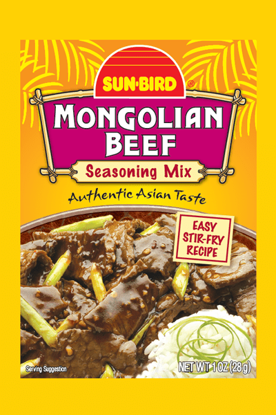 MONGOLIAN BEEF SEASONING MIX